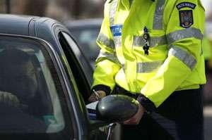 Infracţiunile rutiere, constatate de către poliţiştii rutieri
