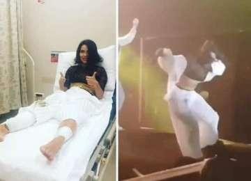 VIDEO: Inna, spitalizată la Istanbul. Cântăreaţa a căzut de pe scenă, în timpul concertului