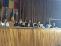 Instutirea primarilor și secretarilor cu privire la alegerile locale din iunie 2016, la Palatul Administrativ din Baia Mare