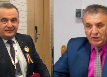 Ioan Stegerean și Ioan Pasere, primari de CINCI STELE ai Maramureșului