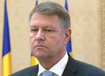 "Iohannis, declarație despre scandalul ""Arhiva SIPA"""
