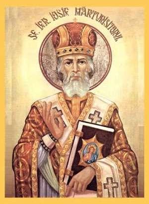 Iosif Mărturisitorul, sfântul Maramureşului, sărbătorit azi