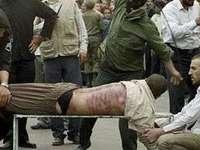Iran: Doi bărbaţi, condamnați la 99 de lovituri de bici fiecare fiindcă au dat mâna cu o femeie