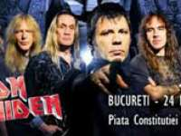 Iron Maiden, Sting şi Rammstein vor concerta în iulie la Bucureşti