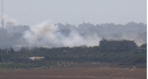 Israelul răspunde tirurilor de rachete lansate din Fâşia Gaza