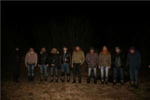 ITPF Sighet - Doisprezece migranti sirieni si albanezi retinuti la frontiera
