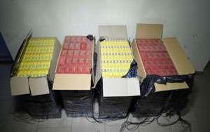 ITPF Sighetu Marmației: Ţigări de contrabandă în valoare de 18.000 lei confiscate de poliţiştii de frontieră