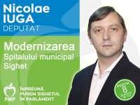 """Iuga Nicolae, candidat PMP la Camera deputaților: """"Atragerea de fonduri europene și guvernamentale, cea mai bună soluție pentru modernizarea Spitalului municipal Sighet"""""""