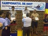 Jandarm maramureşean, vicecampion la campionatul de înot al MAI