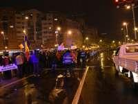Jandarmeria Maramureş mulţumeşte protestatarilor pentru modul pașnic și civilizat în care au manifestat
