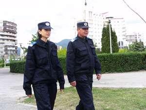 Jandarmii asigură măsurile de ordine pe timpul examenului de Bacalaureat