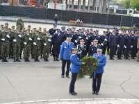 Jandarmii în misiune împreună cu Veteranii de Război
