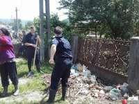 Jandarmii maramureșeni au fost prezenți în misiunea de limitare a efectelor inundaţiilor