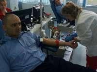 """""""Jandarmii salvează o viaţă"""", acțiune de donare de sânge derulată de jandarmii sigheteni și băimăreni"""