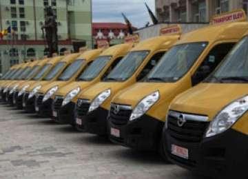 Județul Maramureș a primit 50 de microbuze școlare într-un singur an