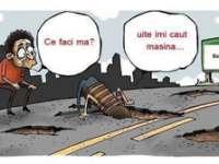 Judeţul  Maramureş este în top cu cele mai proaste drumuri din ţară