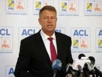 Klaus Iohannis, candidatul ACL la prezidențiale