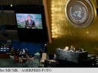 """Klaus Iohannis: """"Comunitatea internațională trebuie să facă mai mult pentru a combate terorismul"""""""