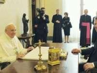 Klaus Iohannis va fi primit în audiență la Papa Francisc