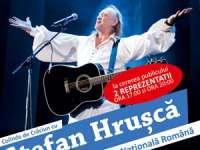 La cererea publicului, Ștefan Hrușcă va susține două concerte la Iași