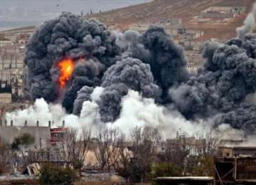La ordinul lui Donald Trump, SUA, Anglia și Franța au atacat Siria