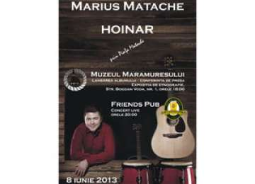 Lansare de album - Marius Matache