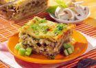 Lasagna cu legume şi ciuperci