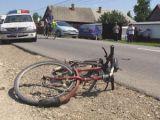 LEORDINA: Biciclistă accidentată de maşina poliţiei rutiere