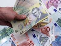 Leul continuă să se deprecieze în raport cu principalele valute; BNR a anunțat un curs de 4,52 lei/euro