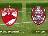 Liga I: Dinamo a pierdut în faţa CFR Cluj cu 0-2