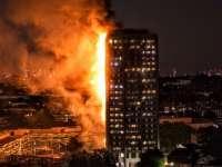 LONDRA - Un incendiu uriaș a cuprins un bloc de locuințe cu 30 de etaje