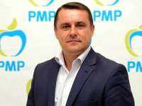 Lucian Morar, primarul orașului Ulmeni, a fost reales în funcţia de preşedinte al filialei PMP Maramureş