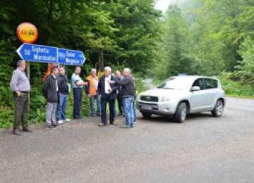 LUCRĂRI: Circulaţia rutieră în Pasul Gutâi, închisă total până în 20 septembrie începând de azi