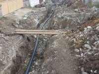 Lucrări de mântuială în Rozavlea - Reţea de apă făcută praf. Materiale ieftine, defecţiuni frecvente