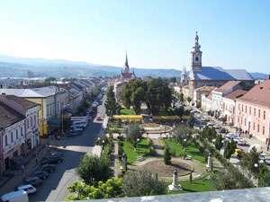 Lucrări de reabilitare pe strada Corneliu Coposu din Sighetu Marmației
