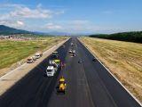 Lucrările de extindere a pistei Aeroportului Baia Mare au fost finalizate