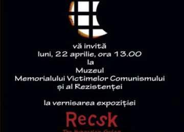 Luni, 22 aprilie are loc la Sighetu-Marmației vernisarea expoziției
