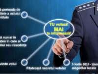 MAI a lansat campania TU VOTEZI, M.A.I. TE INFORMEAZĂ