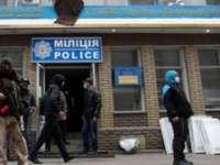 Manifestanții proruși din orașul ucrainean Slaviansk continuă să ocupe clădiri oficiale