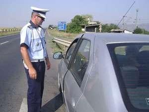POLIŢIA: Sancţiuni aplicate şi certificate de înmatriculare retrase de la participanţii la traficul rutier