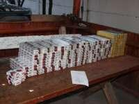 MARAMUREŞ: 105.000 de ţigarete de contrabandă confiscate de poliţiştii de ordine publică