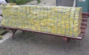 MARAMUREŞ: 2.800 pachete cu ţigări de contrabandă confiscate de poliţişti