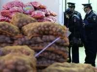 MARAMUREŞ: 377 kg de fructe şi legume confiscate de poliţişti