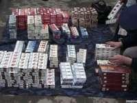 MARAMUREŞ: 8.500  pachete cu ţigări de contrabandă confiscate ieri de poliţişti