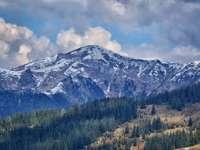 MARAMUREŞ: A venit iarna! Zăpadă de 3 centimetri în masivul Pietrosul Rodnei
