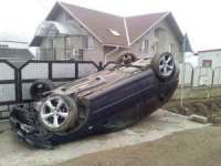 MARAMUREŞ: Accident cu trei victime produs de un şofer băut