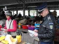 MARAMUREŞ: Acţiuni ale poliţiştilor pentru combaterea comerţului ilicit