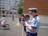 MARAMUREŞ-AUTO-MOTO-SHOW: Acțiuni cu privire la respectarea regulilor de circulație de către pietoni și bicicliști