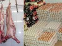 MARAMUREŞ: Carne, produse din carne şi ouă confiscate de poliţiştii economici