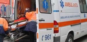 MARAMUREŞ: Doi bătrâni răniţi în urma unui accident rutier